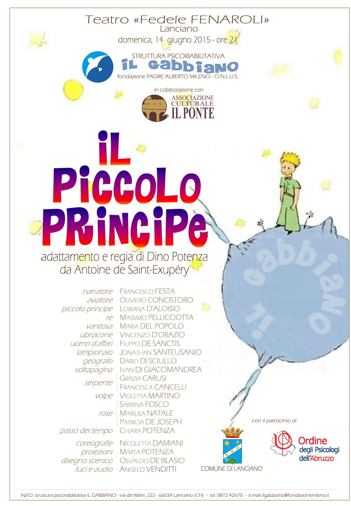 Locandina Il piccolo principe
